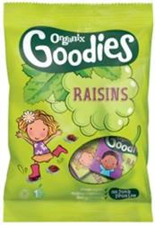 Organix Goodies Raisins Mini Boxes 12 x 14g