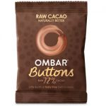 Ombar 72% Raw Buttons 25g