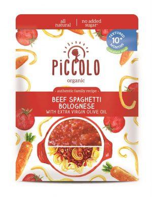Piccolo Organic Beef Spaghetti Bol 180g