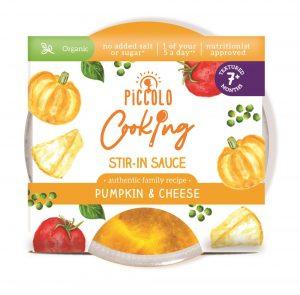 Piccolo Cooking Pumpkin & Cheese Sauce 80g