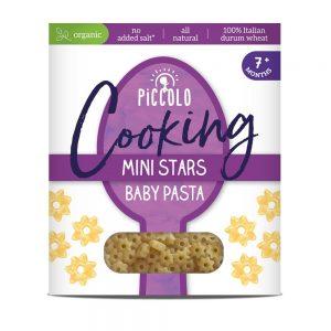 Piccolo Baby Pasta Stars 7m+ 500g