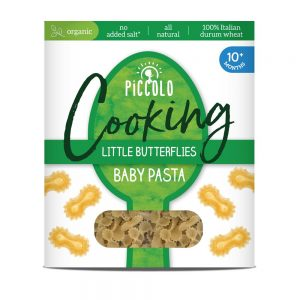 Piccolo Baby Pasta Butterflies 10m+ 400g