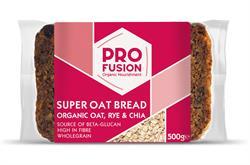 Profusion Organic Super Oat Rye Chia Bread 500g