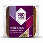 Profusion Organic Protein Bread - Rye & Flax 250g