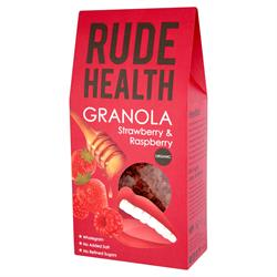 Rude Health Organic Strawberry&Raspber Granola 450g