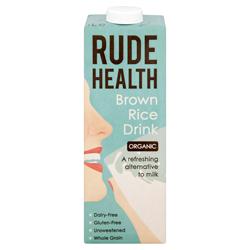 Rude Health Organic Brown Rice Drink 1000ml