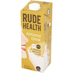 Rude Health Organic Non-Dairy Almond Drink 1000ml