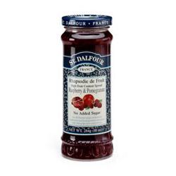 St Dalfour Raspberry & Pom Fruit Spread 284g