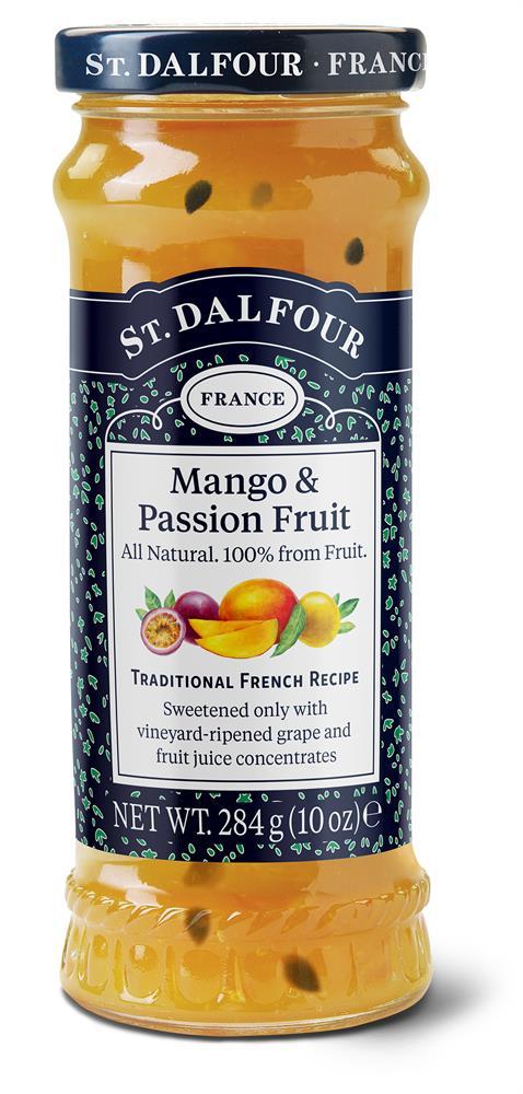St Dalfour Mango & Passion Fruit Spread 284g