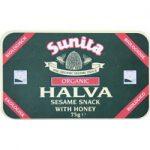 Sunita Organic Plain Honey Halva 75g
