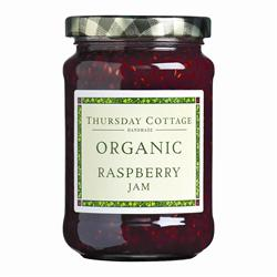 Thursday Cottage Organic Raspberry Jam 340g