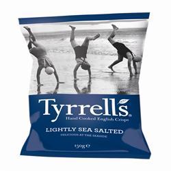 Tyrrells Lightly Salted Crisps 150g
