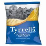 Tyrrells Furrows Sea Salted Crisps 150g