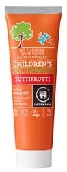 Urtekram Childrens Trutti Frutti Toothpaste Organic 75ml