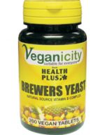 Veganicity Brewers Yeast 300mg 200 tablet