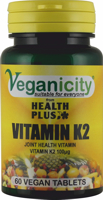 Veganicity Vitamin K2 100ug 60 tablet