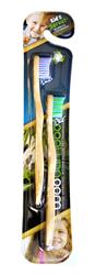 Woobamboo Woobamboo Kids 2 Pack Toothbrush (x1)