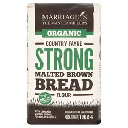 W H Marriage Organic Country Fayre Malted Brown 1000g