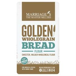 W H Marriage Golden Wholegrain Strong Bread Flour 1000g
