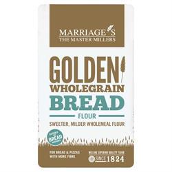 W H Marriage Golden Wholegrain Strong Bread Flour 1000g