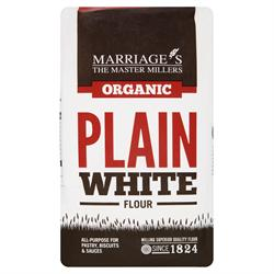 W H Marriage Organic Plain White Flour 1000g