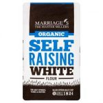 W H Marriage Organic Self Raising White Flour 1000g