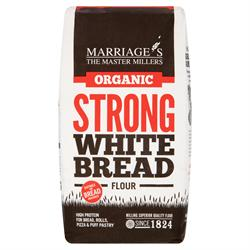 W H Marriage Organic Strong White Bread Flour 1000g
