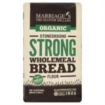 W H Marriage Organic Strong Wholemeal Flour 1000g