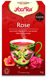 Yogi Tea Rose Organic 17 Bag