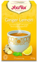 Yogi Tea Ginger Lemon Organic 17 Bag