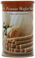 Bolero Peanut Butter Wafer Sticks 110g