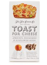 Fine Cheese Co Apricots, Pistachio, Sunflower Seed Toast 100g