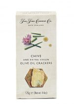 Fine Cheese Co Chive & E.V.O.O. Crackers 125g