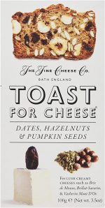 Fine Cheese Co Dates Hazelnuts Pumpkin Seed Toast 100g
