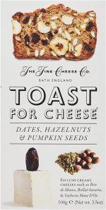 Fine Cheese Co Dates Hazelnuts Pumpkin Seed Toast 100g
