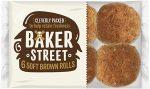 Baker Street Soft Brown Rolls 6's
