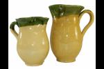 Broadway Deli 1/2 Litre Ceramic Mug Yellow/Green