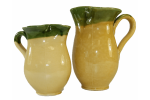 Broadway Deli 1 Litre Ceramic Mug Yellow/Green