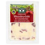 Wensleydale Creamery Wensleydale & Cranberries 180g