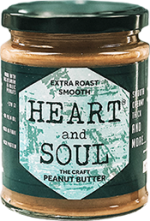 Heart & Soul Extra Roast Smooth Peanut Butter