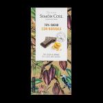 Simon Coll Dark Chocolate with Orange 85g