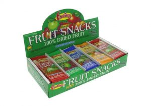 Frutina Raspberry & Apple Dried Fruit Bar 15g