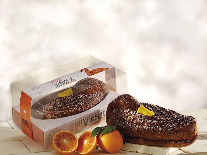 Borsari Duck Panettone Orange Cream 750G