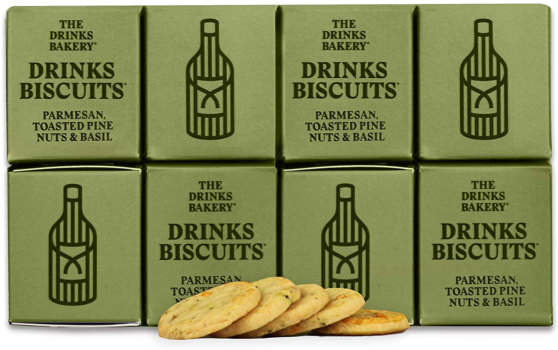 Drinks Bakery The Parmesan Toasted Pinenut & Basil 110g