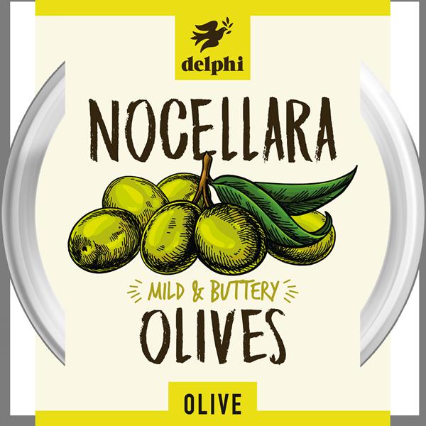 Delphi Nocellara Olives 160g